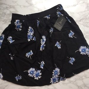 NWT Urban Renewal Floral Skirt